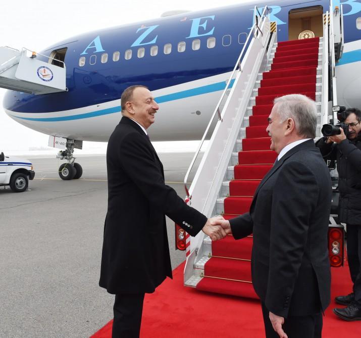 Ilham Aliyev ends his visit to Nakhchivan Autonomous Republic (PHOTO)