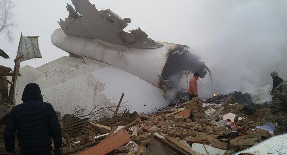 Türk uçağı Bişkek yakınlarında düştü: Ölü sayısı 40'a yaklaştı