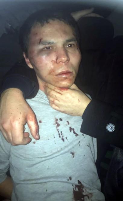 Türkiyədə yeni il gecəsində terror aktı törədən şəxs saxlanılıb (YENİLƏNİB-1) (FOTO)