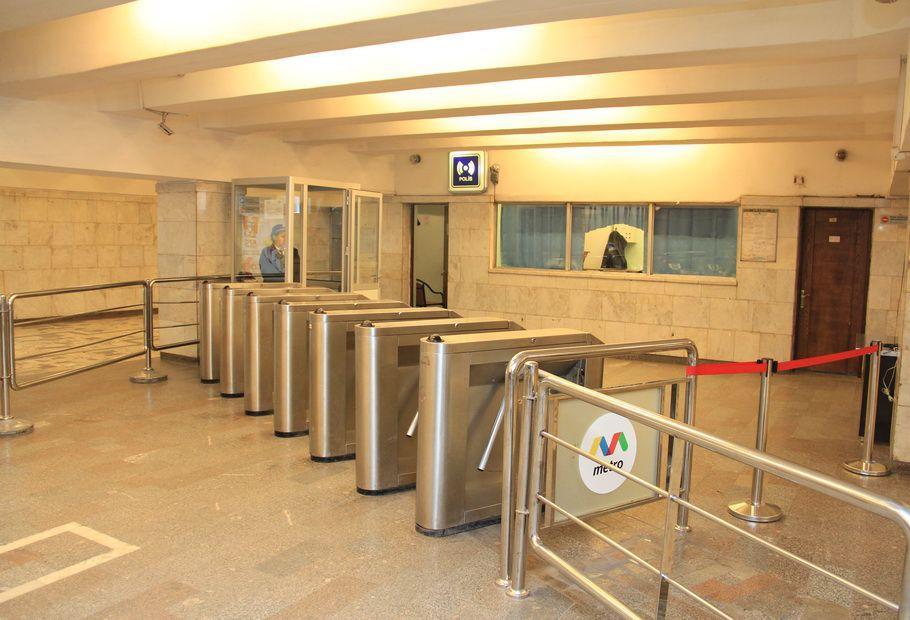 """""""İnşaatçılar"""" stansiyasının 1-ci vestibülü təmirə bağlanır (FOTO)"""