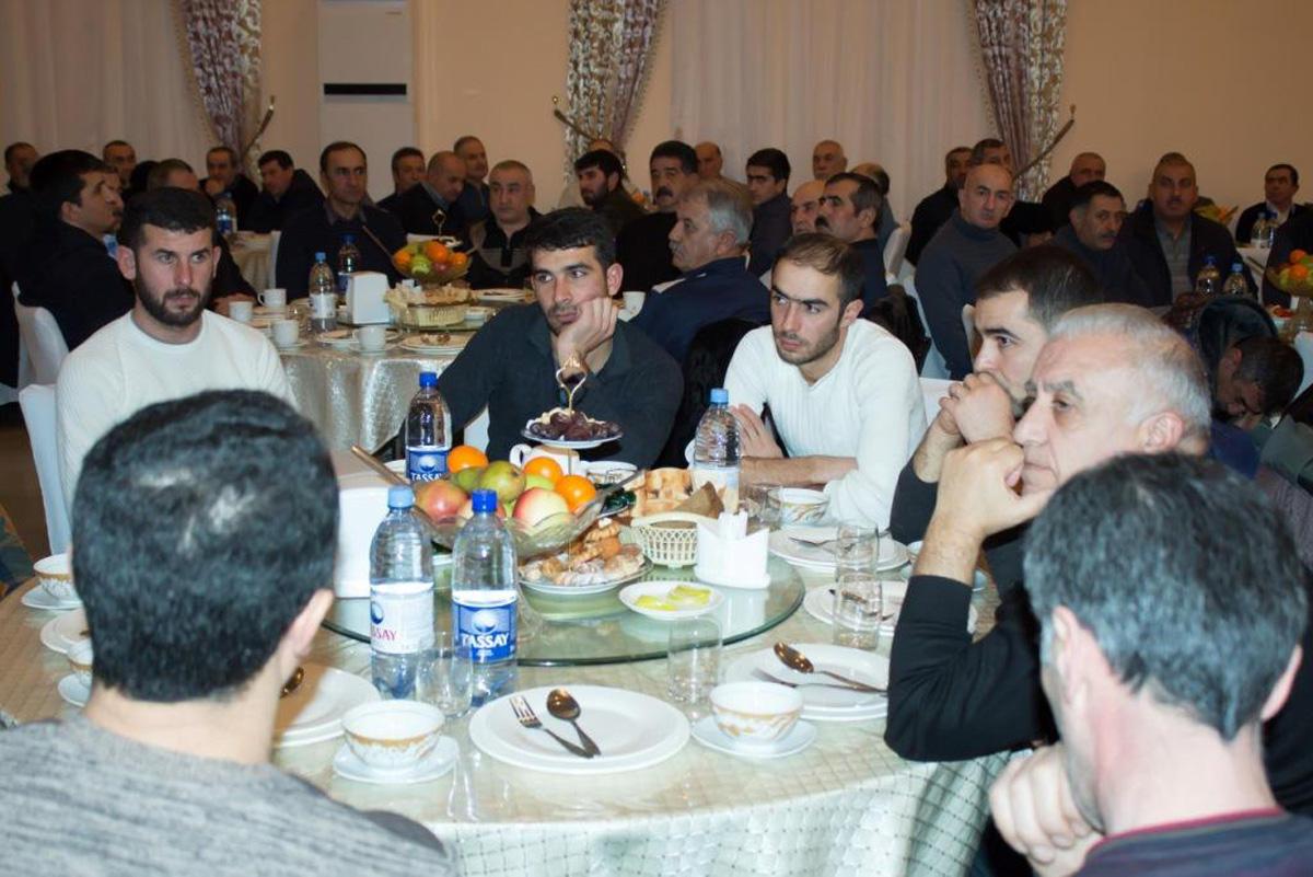 20 Yanvar şəhidləri Aktauda yad edilib  (FOTO)