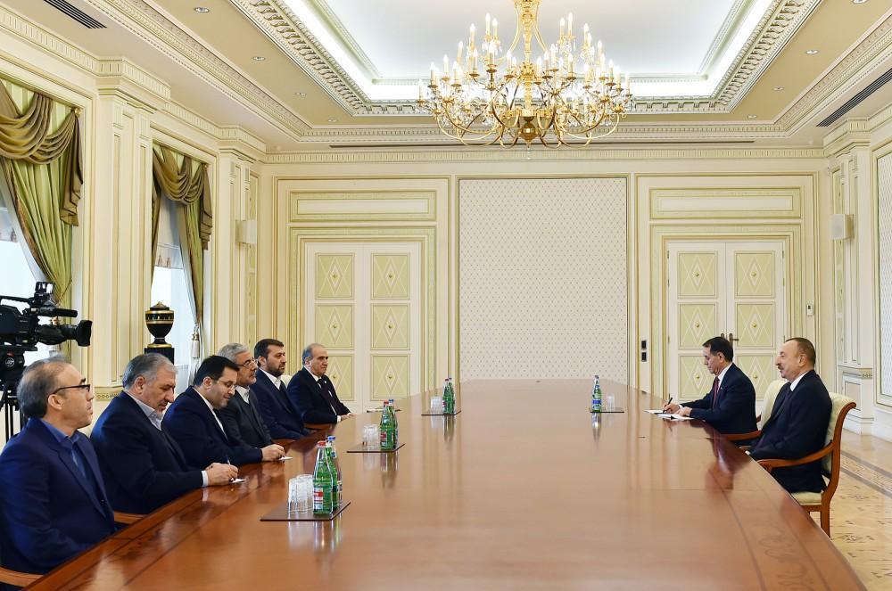 Prezident İlham Əliyev İranın Qərbi Azərbaycan vilayətinin valisini qəbul edib (YENİLƏNİB) (FOTO)