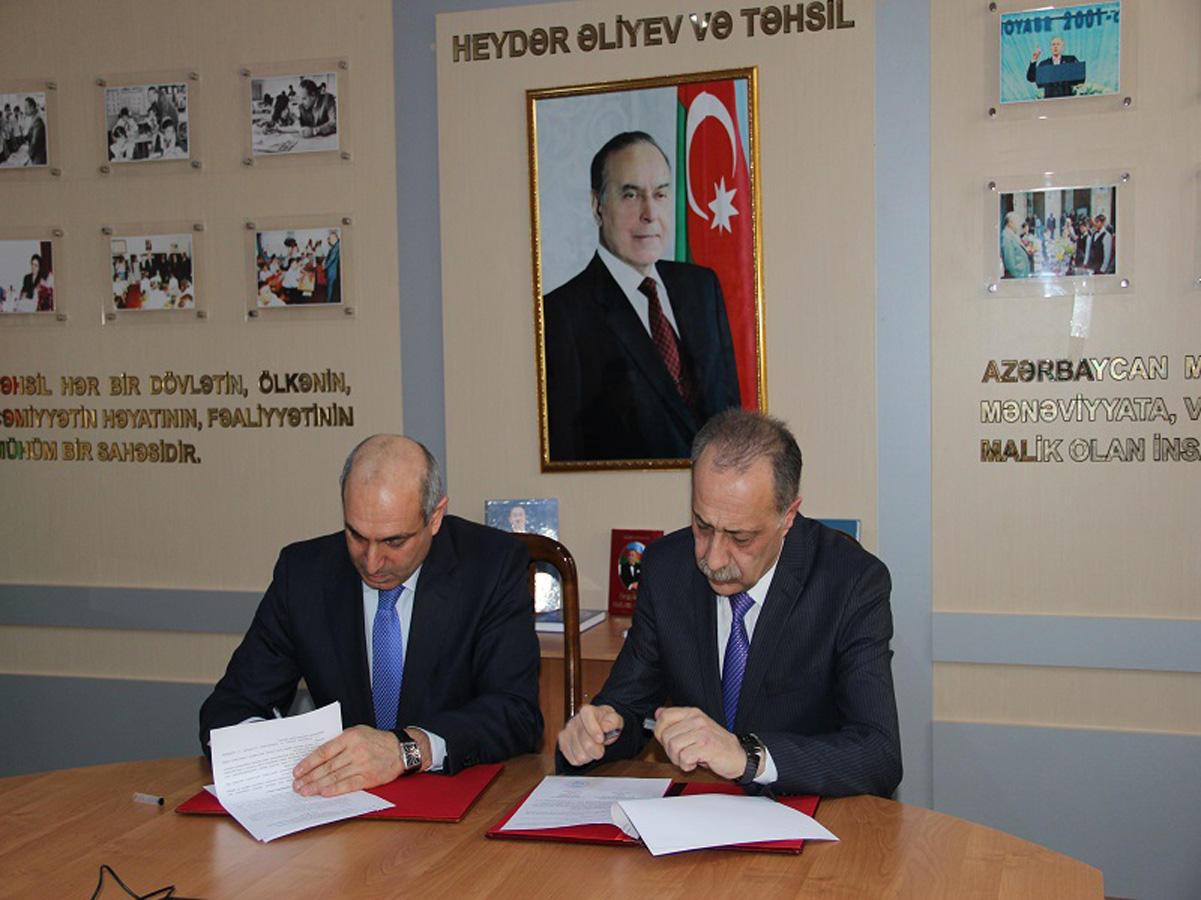 Bilik Fondu Pedaqoji Kolleclə memorandum imzalayıb  (FOTO)