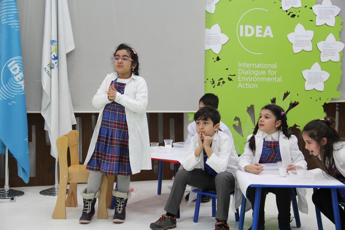 Uşaqlar üçün növbəti ekoloji laboratoriya təlimi təşkil olunub  (FOTO)