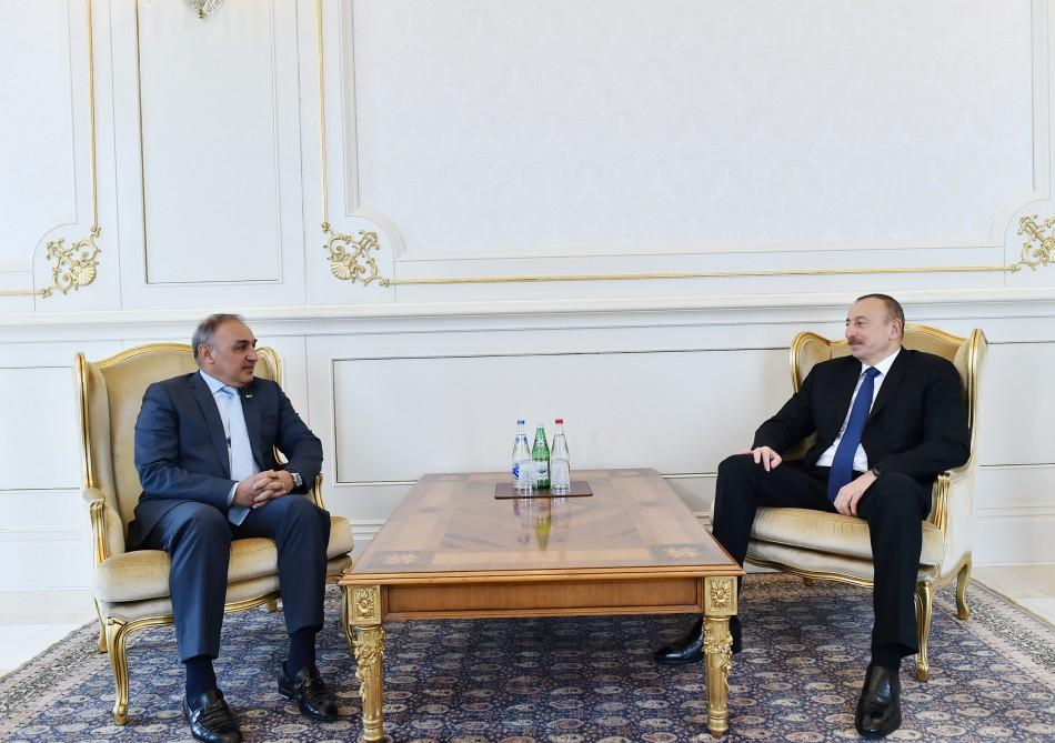 Prezident İlham Əliyev Pakistanın səfirinin etimadnaməsini qəbul edib (FOTO) (YENİLƏNİB)