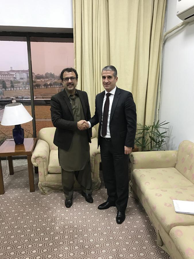 Azərbaycan səfiri Pakistan Milli Assambleyasının komitə sədri ilə görüşüb (FOTO)