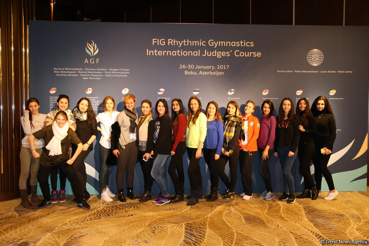 Bakıda bədii gimnastika üzrə beynəlxalq hakimlik kursları başlayıb  (FOTO)
