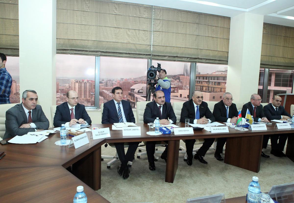 Azərbaycan və Ukrayna sosial siyasət üzrə əməkdaşlıq proqramı imzaladılar (FOTO)