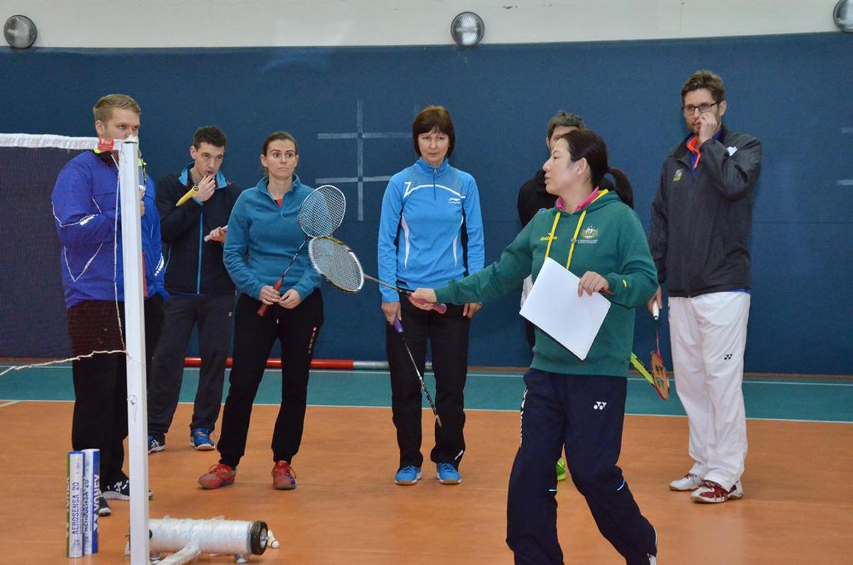 Bakıda badminton üzrə məşqçilər üçün ixtisasartırma kursları keçirilib  (FOTO)