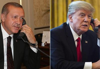 Erdogan, Trump discuss Syria troop withdrawal, economic relations in phone call