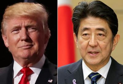 Japan PM Abe says determined to show world strong alliance with U.S.