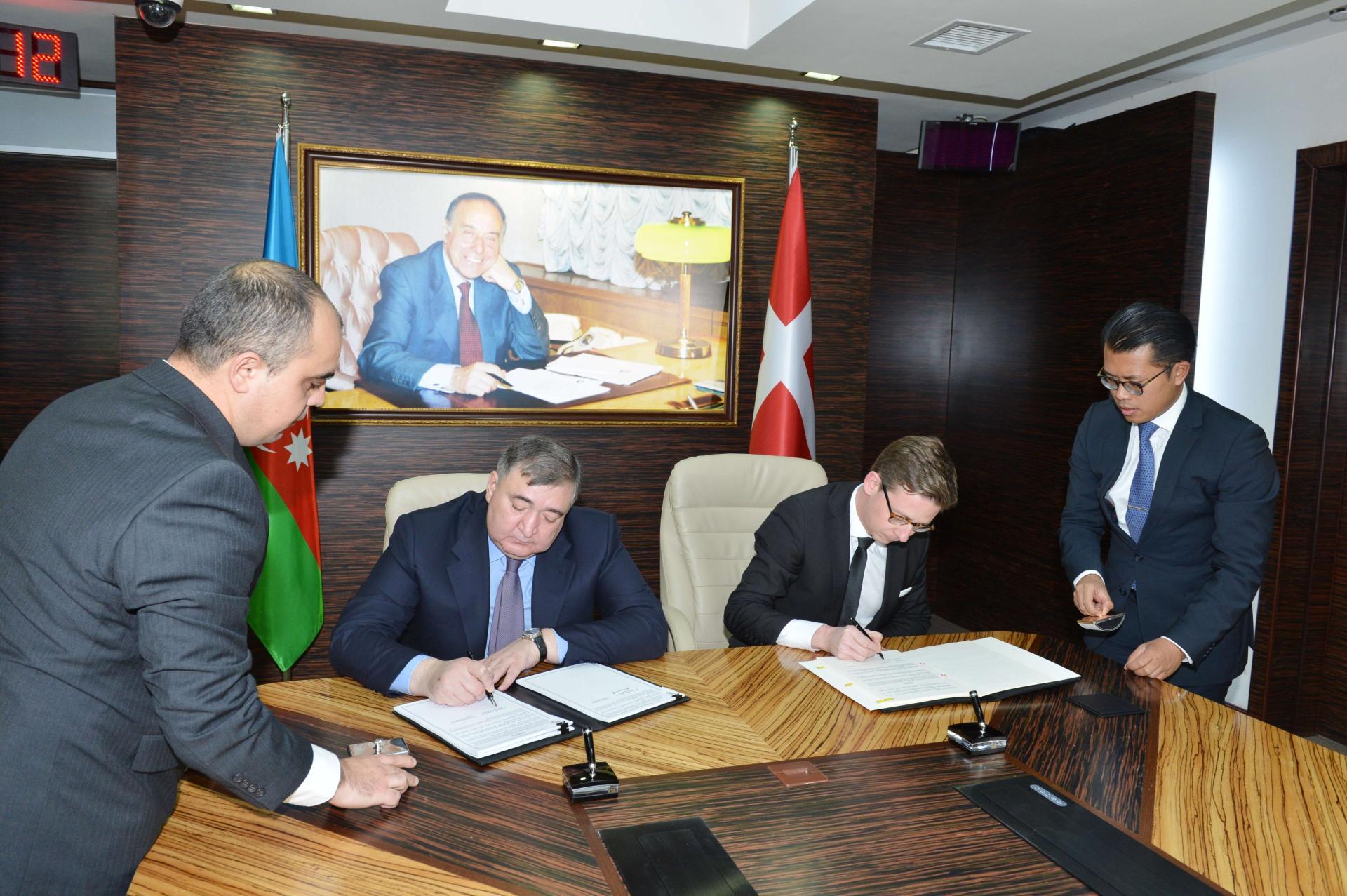 Азербайджан и Дания подписали Конвенцию об избежании двойного налогообложения (ФОТО)