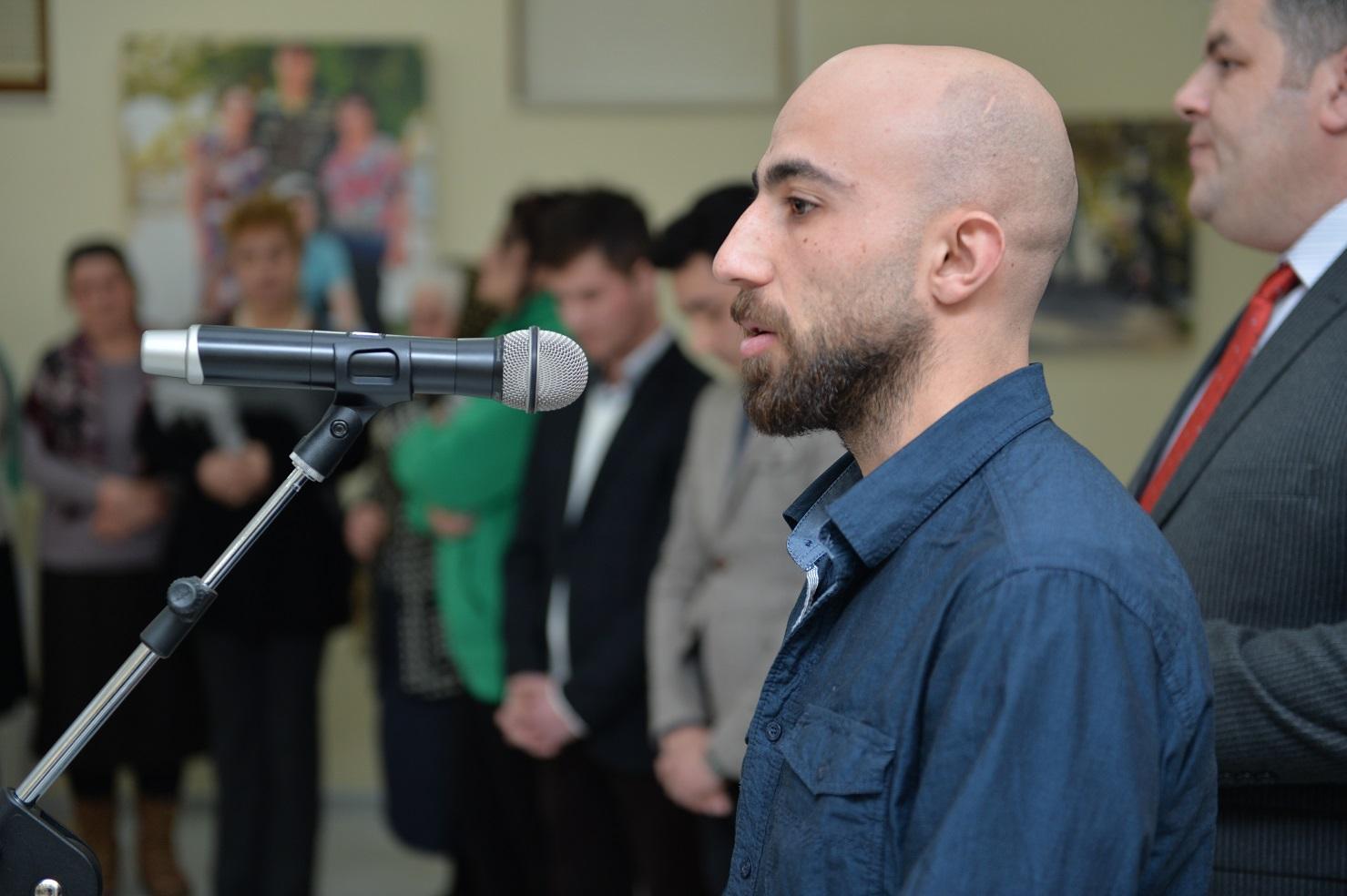 В Шамахе презентовано издание о жизни и творчестве скульптора – шехида Самира Качаева  (ФОТО)