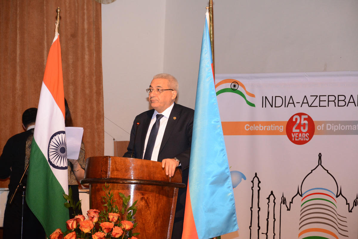 Azerbaijan and India celebrate 25th anniversary of