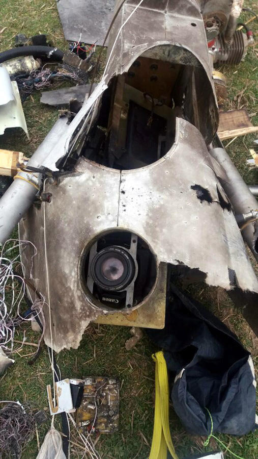 Azerbaijan downs Armenian UAV (PHOTO)