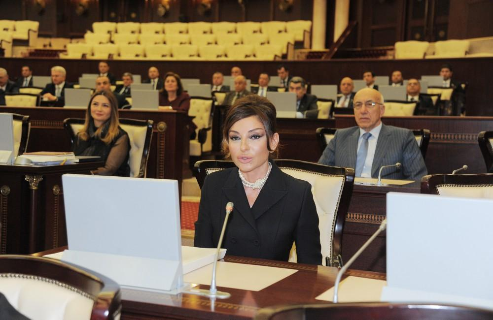 First VP Mehriban Aliyeva: It was great honor for me to be MP (PHOTO)