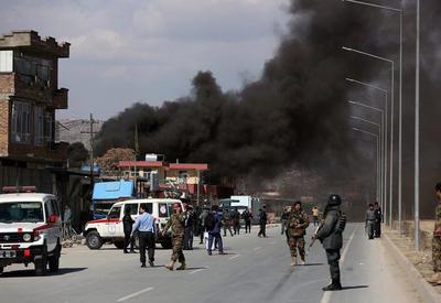 Several blasts heard in Afghan capital Kabul