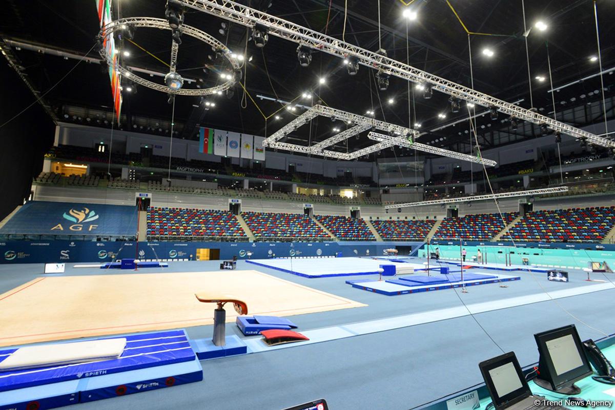 Кубок мира по спортивной гимнастике в Баку ждет своих участников (ФОТОРЕПОРТАЖ)