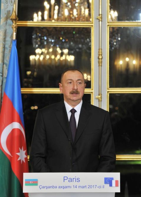 Prezident İlham Əliyev: Ermənistan danışıqlardan boyun qaçırmamalıdır (FOTO) (YENİLƏNİB)