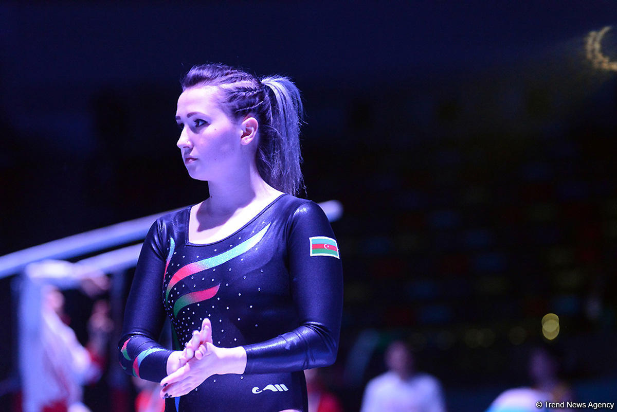 Bakıda idman gimnastikası üzrə Dünya Kuboku yarışının ilk günü başladı (FOTO)
