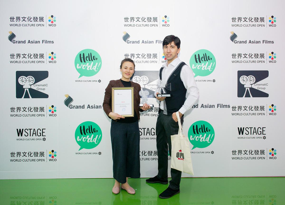 """Азербайджанский фильм """"Два чужих человека"""" удостоен двух номинаций Grand Asian Film Festival (ФОТО)"""