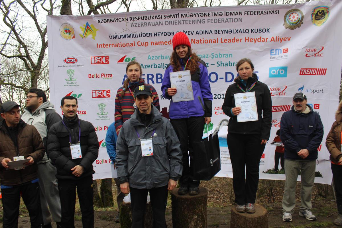 В Азербайджане определены победители по спортивному ориентированию (ФОТО)