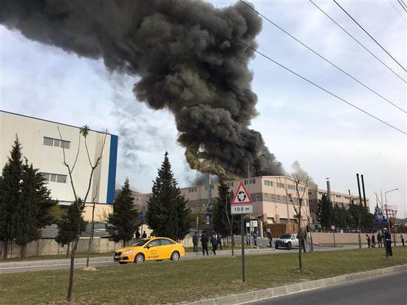 Tekirdağ'da fabrikada patlama