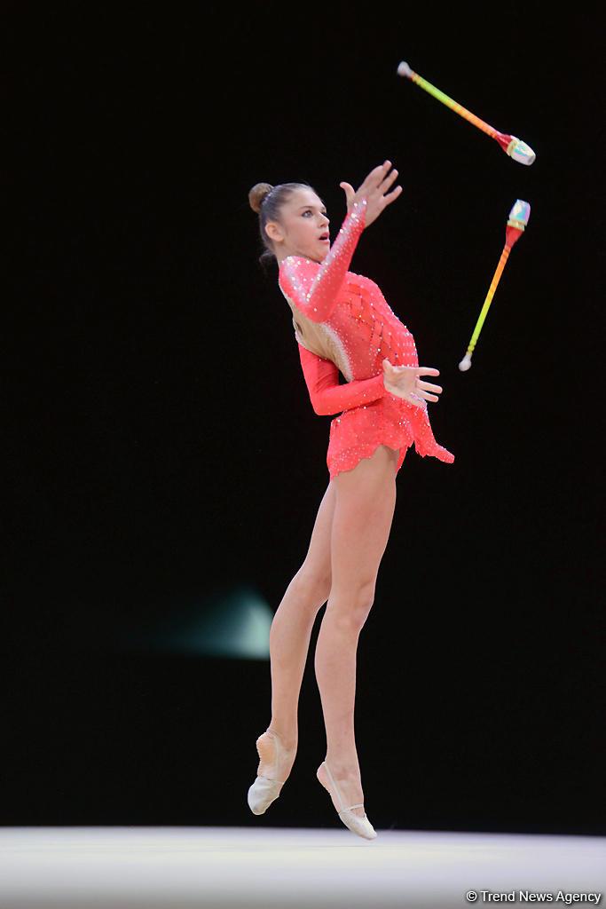 Стартовали финалы Кубка мира по художественной гимнастике в Баку (ФОТО)