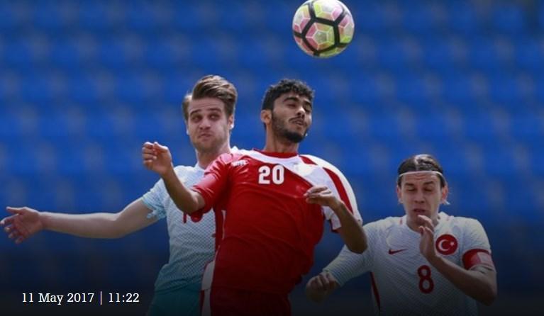 Türkiye futbol takımı Bakü'de tekrar yenildi (Fotoğraf)