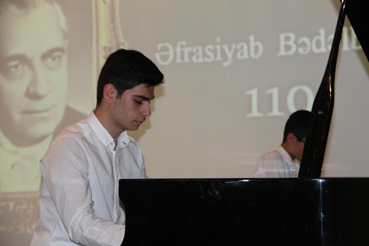Юбилей Афрасияба Бадалбейли отметили в Баку (ФОТО)