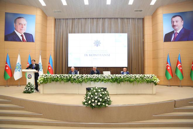 YAP Binəqədi rayon təşkilatının IX konfransı keçirilib (FOTO)