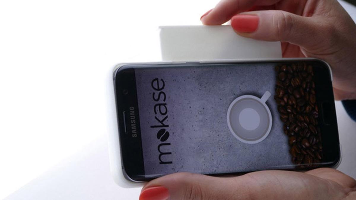 Qəhvə hazırlayan telefon örtüyü istehsal edildi (FOTO/VİDEO)