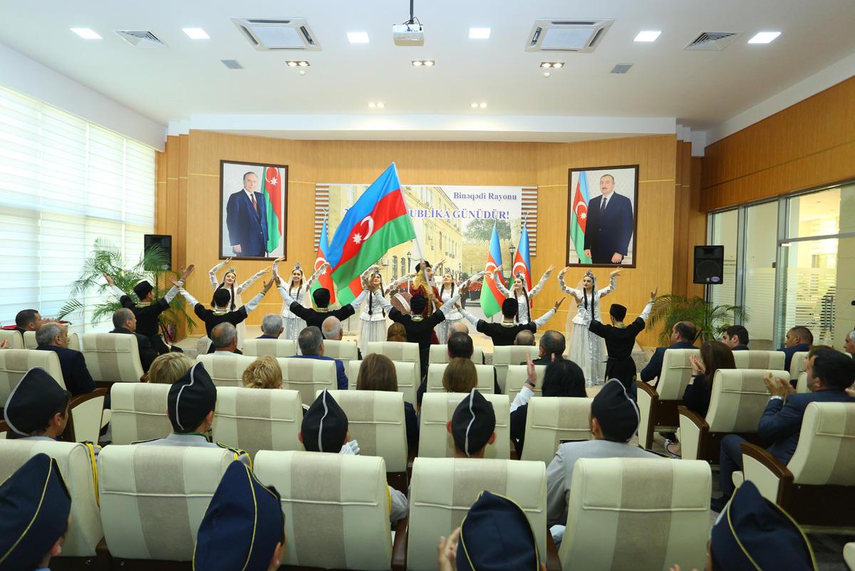 28 May - Respublika Günü Binəqədidə qeyd edilib (FOTO)