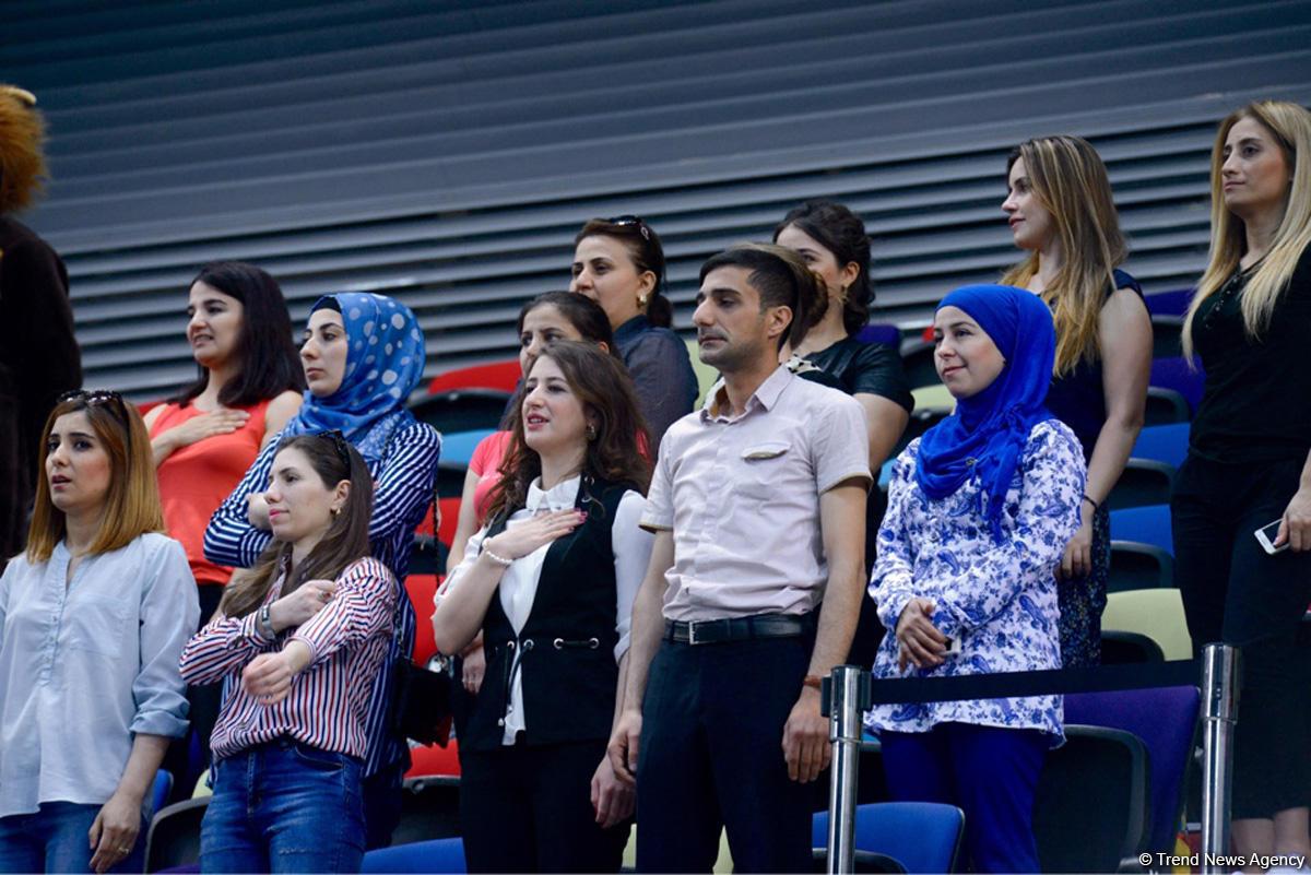 Uşaqların Beynəlxalq Müdafiəsi Gününə həsr olunmuş bədii gimnastika yarışına start verilib (FOTO)