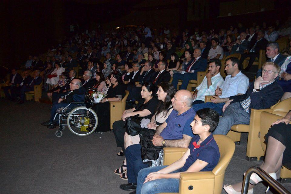 Великолепный вечер творчества Гусейна Джавида в Международном центре мугама (ФОТО)