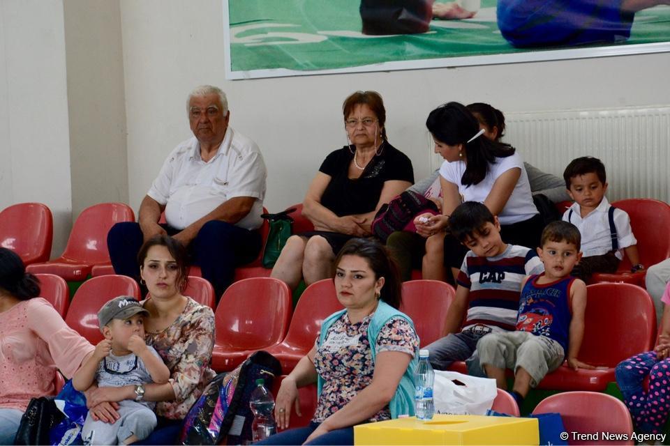 """Bədii gimnastika üzrə """"Nar şahzadəsi"""" və Göyçay Açıq birinciliyinə start verilib (FOTO)"""