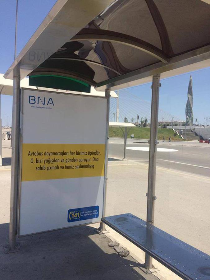 """Avtobusların """"Koroğlu""""da əvvəlki yerlərində dayanmasına AZ QALDI (FOTO)"""