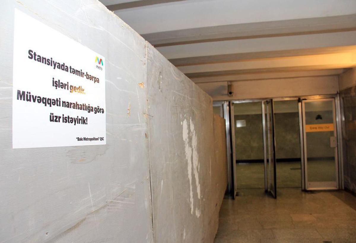 Metro istifadəçilərinin nəzərinə (FOTO)
