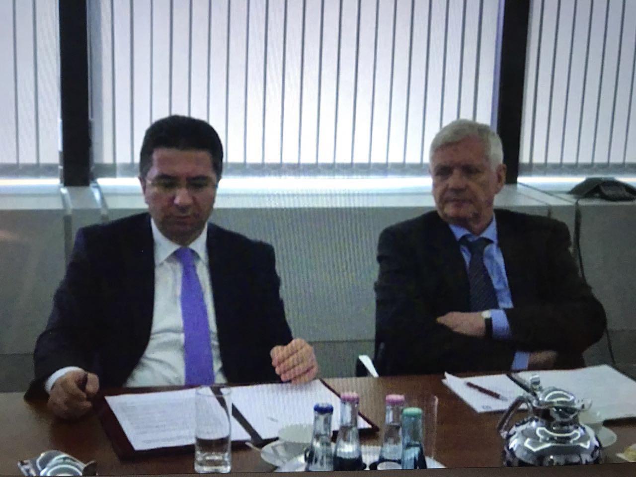 Almaniya-Azərbaycan Forumunun toplantısı keçirilib (FOTO)