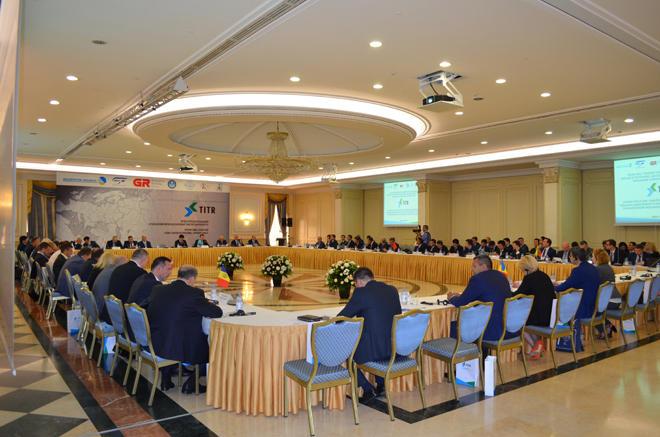 Astanada Transxəzər Beynəlxalq Nəqliyyat Marşrutunun iştirakçıları bir araya gəliblər (FOTO)