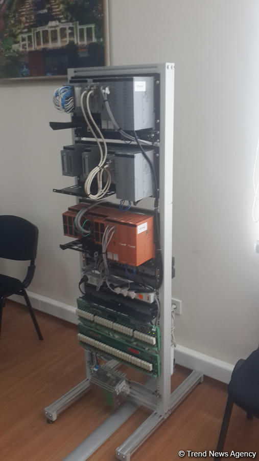SOCAR-ın Tədris Mərkəzində müasir avtomatik idarəetmə sistemləri üzrə təlim otağının açılışı olub (FOTO)