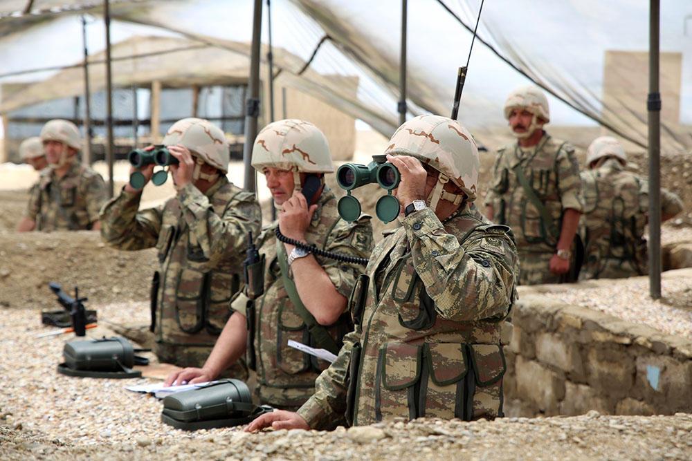 Azərbaycan Silahlı Qüvvələrinin mühəndis istehkam bölmələrinin taktiki-xüsusi təlimi keçirilib (FOTO)