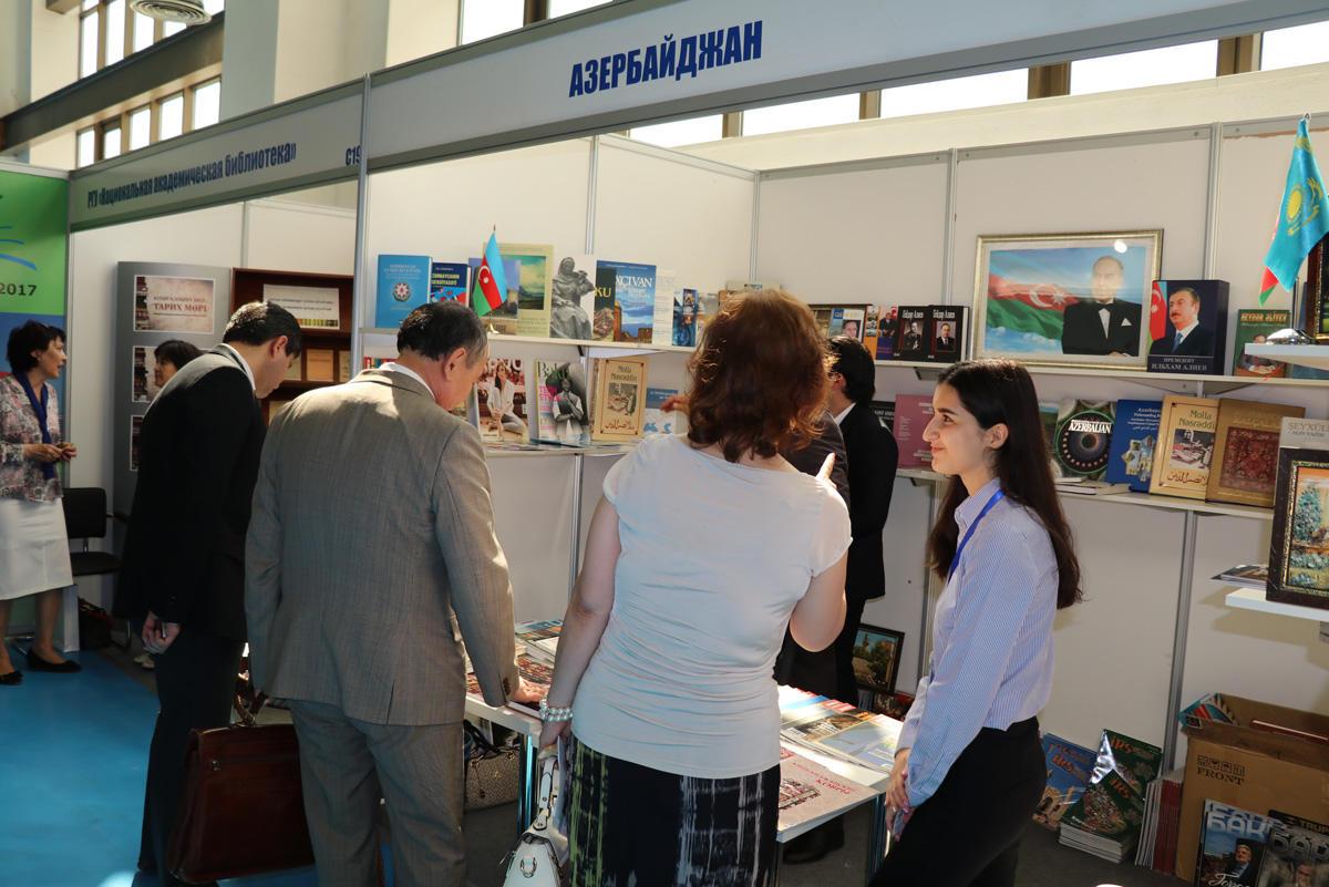 Azərbaycan Astanada 2-ci Avrasiya Beynəlxalq Kitab sərgisində təmsil olunur (FOTO)