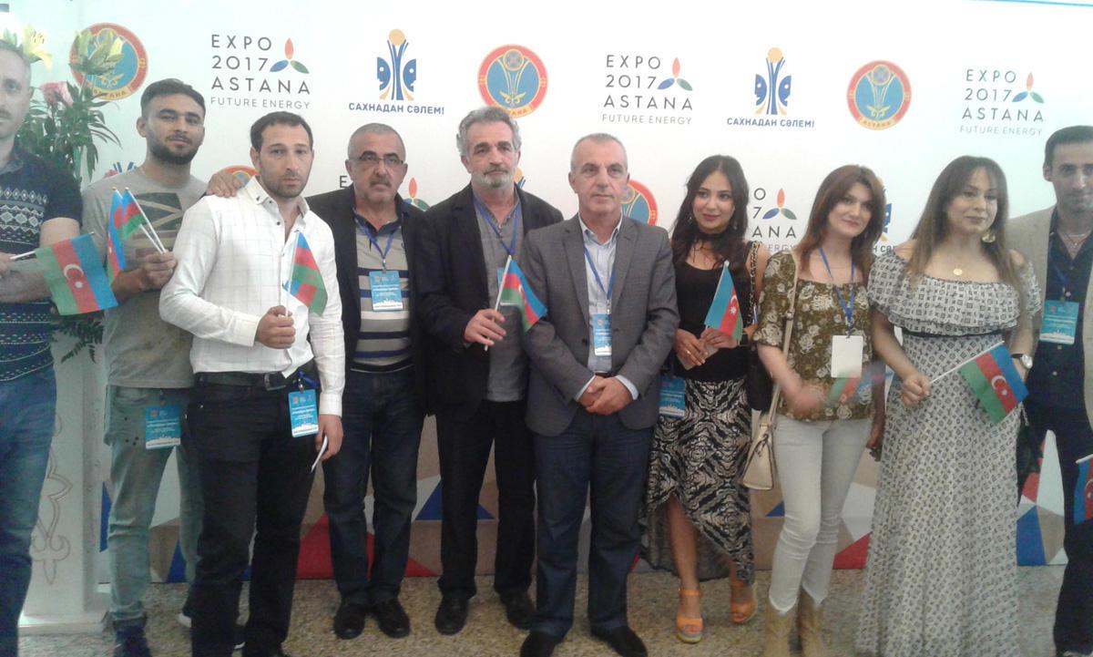 Gənc Tamaşaçılar Teatrı beynəlxalq festivalda iştirak edib (FOTO)