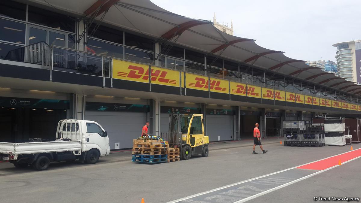 Bakıda Formula 1 treki 4 günə tam hazır olacaq (FOTO)