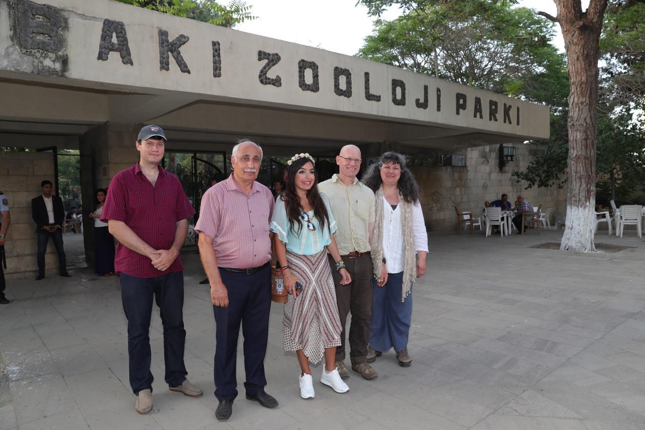 Leyla Əliyevanın təşəbbüsü ilə Bakı Zooloji Parkında yenidənqurma işləri başlayır (FOTO)