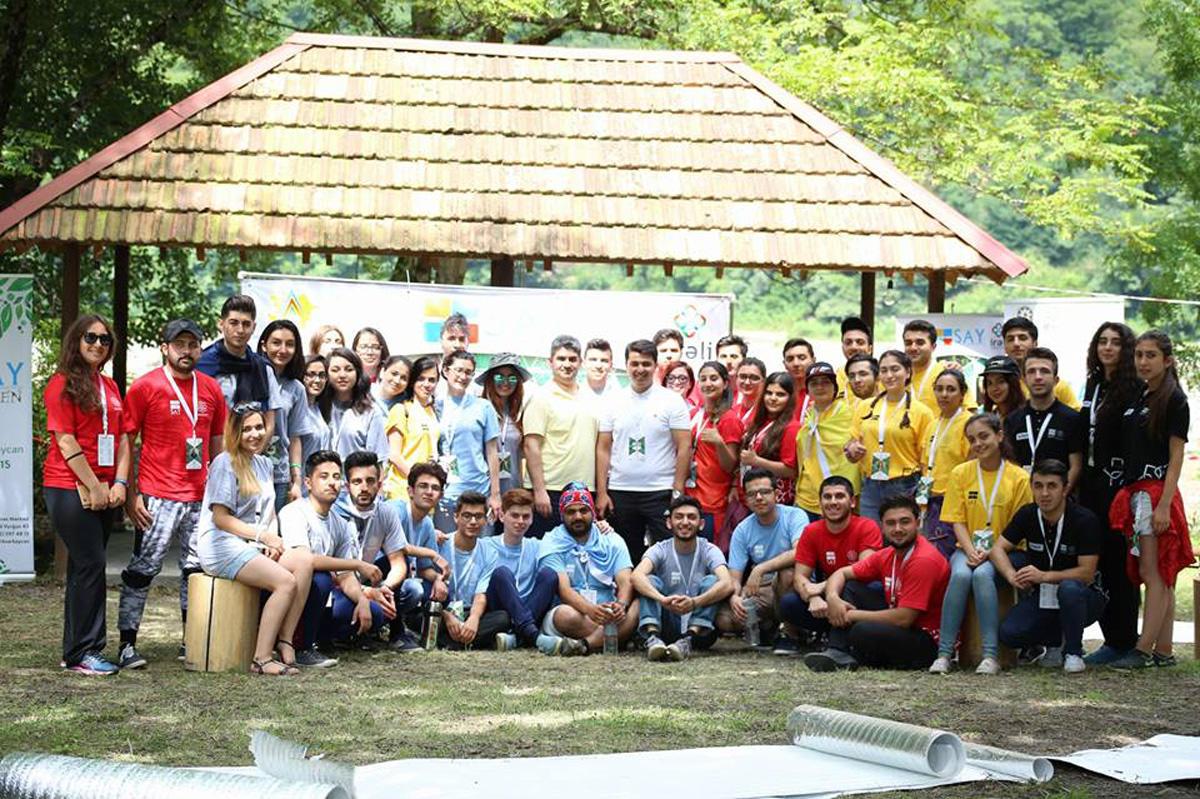 Классное лето азербайджанской молодежи – активный отдых на природе (ФОТО)