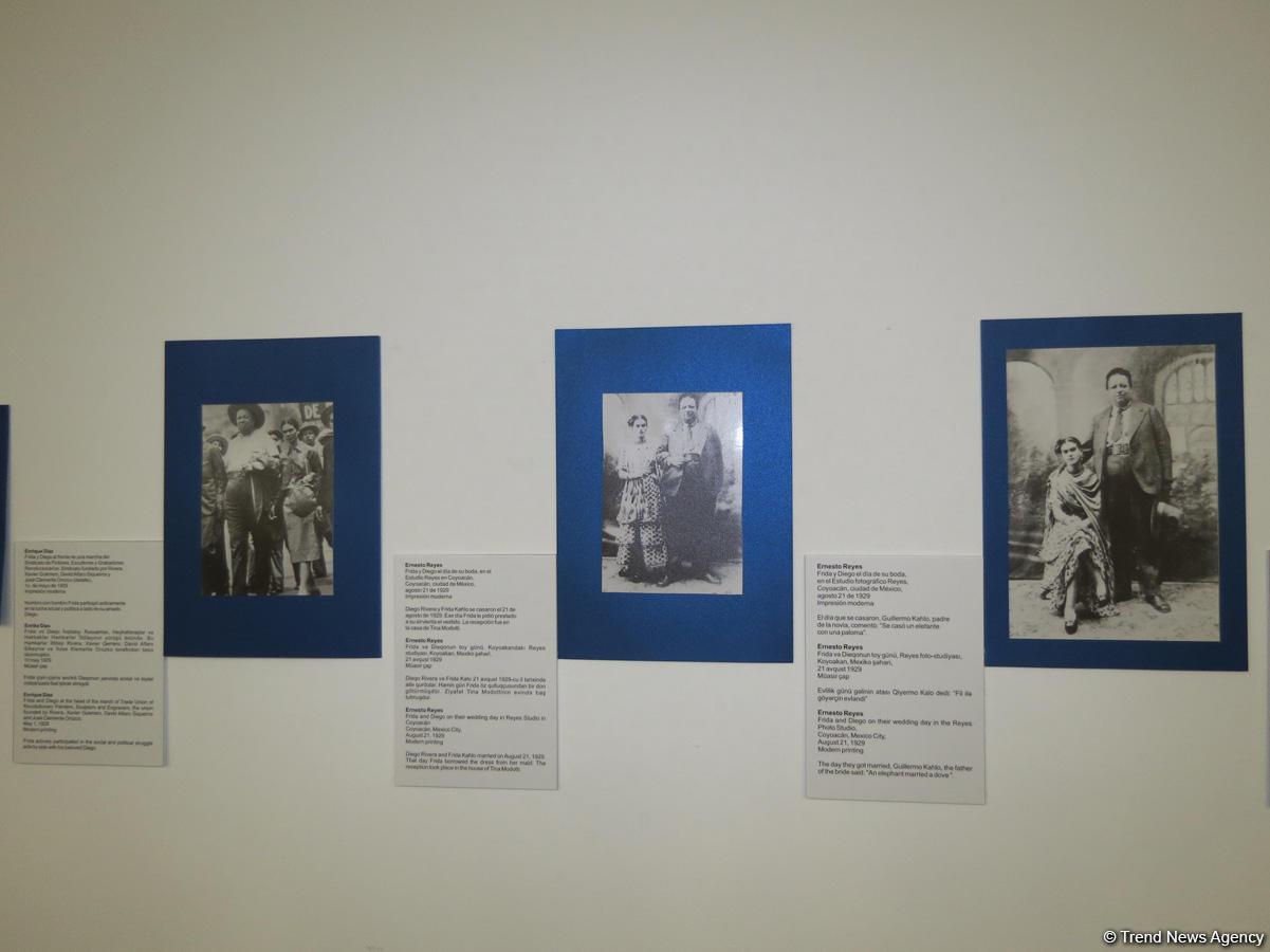 Baku hosts exhibition dedicated to Diego Rivera and Frida Kahlo (PHOTO)