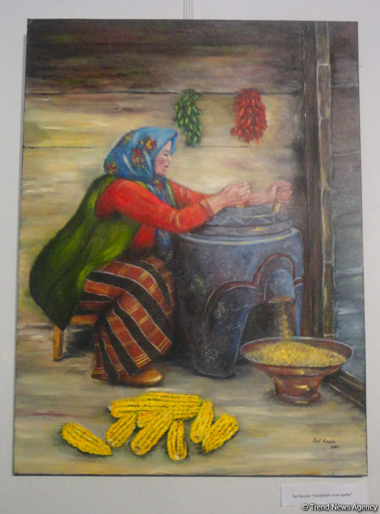 Одухотворенность и поэтичность объединила художников Азербайджана, Турции и Казахстана (ФОТО)