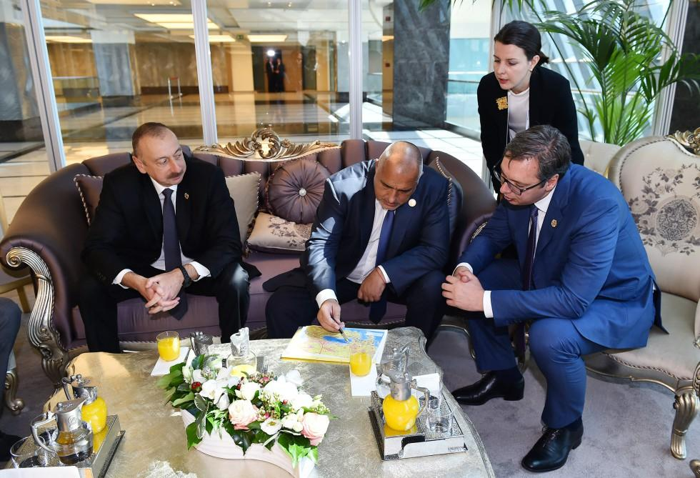 Ilham Aliyev meets heads of state, gov't of countries at 22nd World Petroleum Congress (PHOTO)
